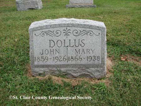 Dollus, John and Mary