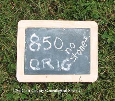 Lot marker – Orig 850 (no stones)