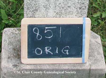 Lot marker – Original 851