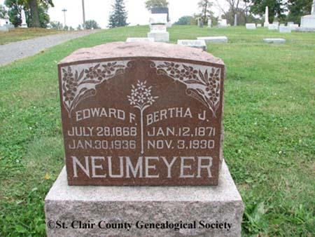 Neumeyer, Edward F and Bertha J