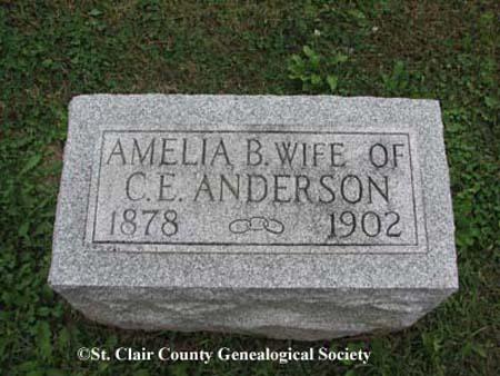 Anderson, Amelia B (S?)